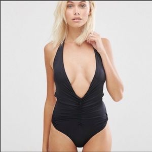 HAH [Revolve] In a Ruch black Swimsuit XS